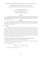 nghiên cứu khoa học - hệ phương trình đối xứng và ứng dụng