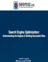 Search Engine Optimization: Understanding the Engines & Building Successful Sites pptx