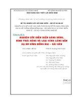 Chuyên đề 4: NGHIÊN CỨU DIỄN BIẾN LÒNG SÔNG, HÌNH THÁI SÔNG VÀ LOẠI HÌNH LÒNG DẪN HẠ DU SÔNG ĐỒNG NAI – SÀI GÒN pot