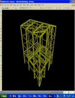 Ví dụ tính toán hệ khung bằng sap2000 version10.01