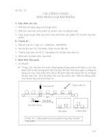 Các lệnh cơ bản máy phân loại sản phẩm trong PLC