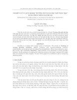 """báo cáo nghiên cứu khoa học  '  nghiên cứu lập e-book """"hướng dẫn giải bài tập trắc địa"""" bằng phần mềm mathcad'"""