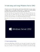 10 tính năng mới trong Windows Server 2012 docx