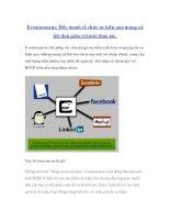 Eventasaurus: Đẩy mạnh tổ chức sự kiện qua mạng xã hội đơn giản với một thao tác. docx
