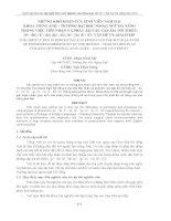 đề tài   những khó khăn của sinh viên năm hai khoa tiếng anh – truờng đại học ngoại ngữ đà nẵng trong việc tiếp nhận và phát âm các cặp âm tối thiểu   p  -  b ,  t  -  d ,  k  -  g ,  s  -  z ,  í  -