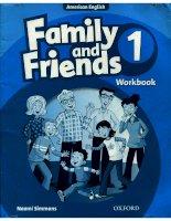 family 1 workbook