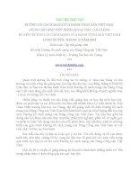12531- 300 câu giải đáp nhanh và 50 chủ đề tự luận môn Lịch sử Đảng pptx