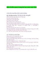 Một số điều quan trọng khi học môn Anh Văn doc