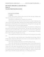 Bài thuyết trình môn: Lí luận văn học 3 pdf