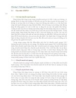 Chương 3: Tích hợp công nghệ MPLS trong mạng quang WDM pptx