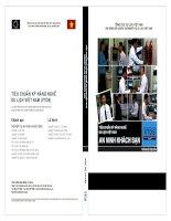 TIÊU CHUẨN KỸ NĂNG NGHỀ DU LỊCH VIỆT NAM NGHIỆP VỤ AN NINH KHÁCH SẠN pdf