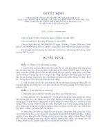 Quyết định 244/2005 của thủ tướng CP về chế độ phụ cấp ưu đãi cho giáo viên