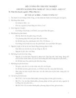 ĐỀ CƯƠNG ÔN THI TỐT NGHIỆP CHUYÊN NGÀNH CÔNG NGHỆ KỸ THUẬT ĐIỆN TỬ pot