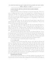 CÁC PHƯƠNG PHÁP DẠY HỌC VÀ RÈN KỸ NĂNG Ở KIỂU BÀI THỰC HÀNH Môn: Địa lý - Lớp 7