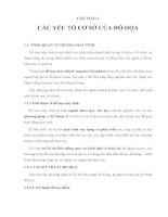 CHƯƠNG I CÁC YẾU TỐ CƠ SỞ CỦA ĐỒ HỌA docx