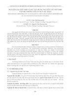 nguyên tắc phù hợp và sự vận dụng nguyên tắc phù hợp vàoống chuẩn mực hệ th kế toán