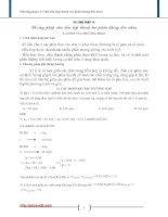 Phương pháp Chia hỗn hợp thành các phần không đều nhau docx