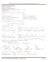 Ôn tập lý thuyết toán Thi TN THPT 2010