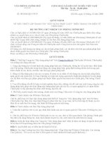 """08_2006_QD-VPCP VỀ VIỆC THIẾT LẬP TRANG TIN """"XÂY DỰNG PHÁP LUẬT TRÊN TRANG TIN ĐIỆN TỬ CHÍNH PHỦ pptx"""