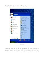 Menu Start của Windows qua các thế hệ - P.2 pot