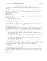 HƯỚNG DẪN THÍ NGHIỆM BÀI 2 : Khảo sát hiện tượng phân cực ánh sáng - kiểm nghiệm định luật Malus docx
