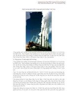 Định hướng phát triển công nghệ môi trường Việt Nam ppt