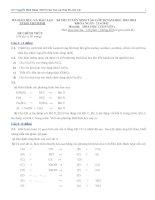 ĐỀ THI TUYỂN SINH VÀO LỚP 10 NĂM HỌC 2012-2013 TP HỒ CHÍ MINH MÔN HÓA HỌC doc