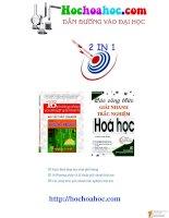 công thức hóa học on thi dai hoc