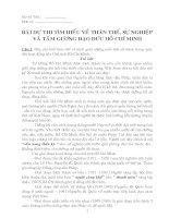 Bài dự thi tìm hiểu thân thế, sự nghiệp Hồ Chí Minh