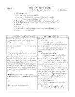 Tiết 76 - Hồi trống Cổ Thành