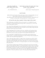 Quyết định số 1133/QĐ-BNN-XD ppt