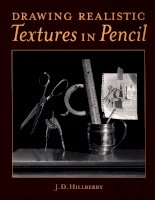 Drawing realistic textures in pencil pdf