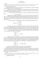 Một số câu hỏi và đáp án môn Tiền Tệ Ngân Hàng pdf