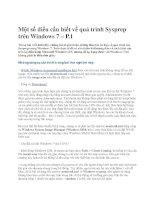 Một số điều cần biết về quá trình Sysprep trên Windows 7 – P.1 doc