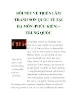 ĐÔI NÉT VỀ TRIỂN LÃM TRANH SƠN QUỐC TẾ TẠI HẠ MÔN (PHÚC KIẾN) – TRUNG QUỐC pot