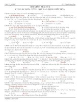 Bài kiểm tra số 2 , chương 1, Con Lắc đơn-tổng hợp dao động điều hòa pot