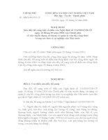Nghị định 121-2006 của chính phủ về tuyển dụng sử dụng CB-CC trong đơn vị sự nghiệp