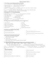 BAI TAP DUNG KEM LOP 7 UNIT 1 to 16 potx