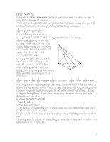 Hướng dẫn học sinh lớp 11 sử dụng kết quả một bài tập trong sách giáo khoa để giải quyết một số bài toán về khoảng cách.