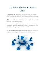 4 lý do bạn nên chọn Marketing Online pot