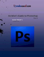 An Idiot''''s Guide to Photoshop Part II. ppt