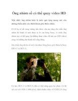 Ống nhòm số có thể quay video HD doc