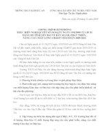 Chương trình hành động thực hiện Nghị quyết số 10 của BCH Đảng bộ tỉnh yên Bái