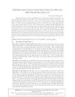 GIẢI PHÁP CHO CÁ TRA, CÁ BASA XUẤT KHẨU CỦA VIỆT NAM TRÊN THỊ TRƯỜNG TOÀN CẦU pptx