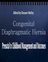 CONGENITAL DIAPHRAGMATIC HERNIA – PRENATAL TO CHILDHOOD MANAGEMENT AND OUTCOMES docx