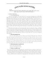 PHƯƠNG PHÁP SỬ DỤNG ĐỒ DÙNG DẠY HỌC ĐỂ NANG CAO             HIỆU QUẢ GIẢNG DẠY MÔN HÌNH HỌC 9