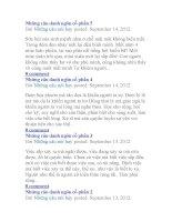 Những câu danh ngôn cổ pdf