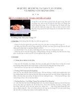BÍ QUYẾT ĐỂ CHÚNG TA TẠO CÔNG VIỆC ẤN TƯỢNG VÀ PHỎNG VẤN THÀNH CÔNG pdf