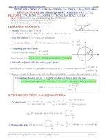 Giải nhanh vật lý 12 bằng máy tính CASIO fx570ES
