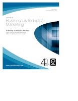 business & industrial marketing